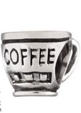 Berloque xícara de café