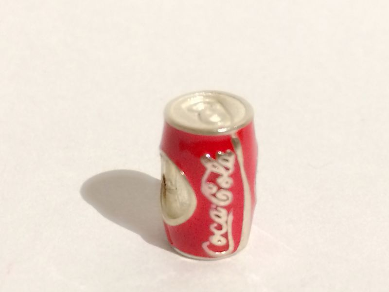 Berloque lata de coca-cola
